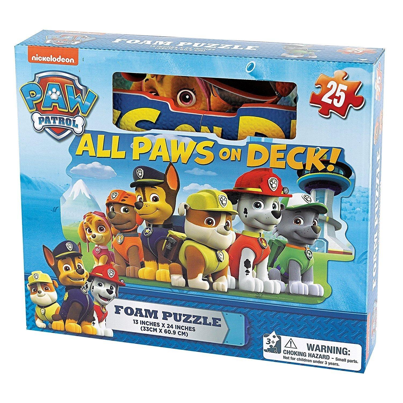 Paw Patrol - 6028790 - Puzzle Mousse 25 Pièces - La Pat' Patrouille Spin Master CDL6028790
