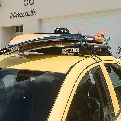 Shredrack Mini Universal Dachgepäckträger Tasche Auto Dachträger Für Autodach Dach Gepäckträger Als Car Roof Rack Autodachträger Dach Träger In Schwarz Auto