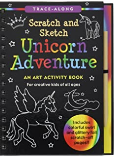 Unicorn Adventure Scratch And Sketch An Art Activity Book For Creative Kids Of All Ages