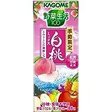 カゴメ 野菜生活100 白桃ミックス 195ml×24本