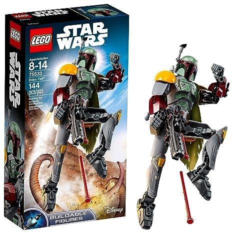 Amazoncom Lego Star Wars Return Of The Jedi Boba Fett 75533