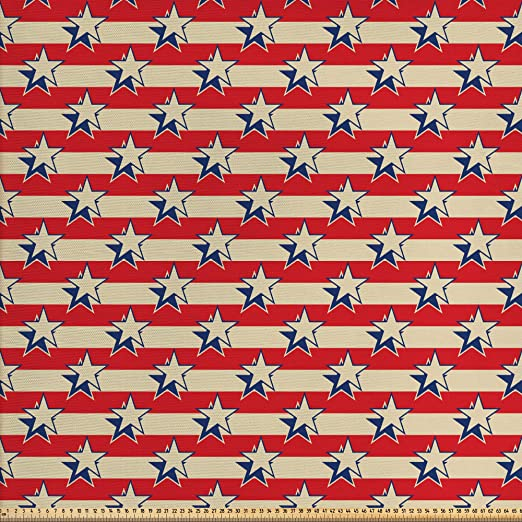ABAKUHAUS Estados Unidos Tela por Metro, Independencia Del ...