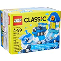 LEGO 10706 Classic - Juego de Construcción Caja Creativa para las Edades de 4 a 99 años, Azul