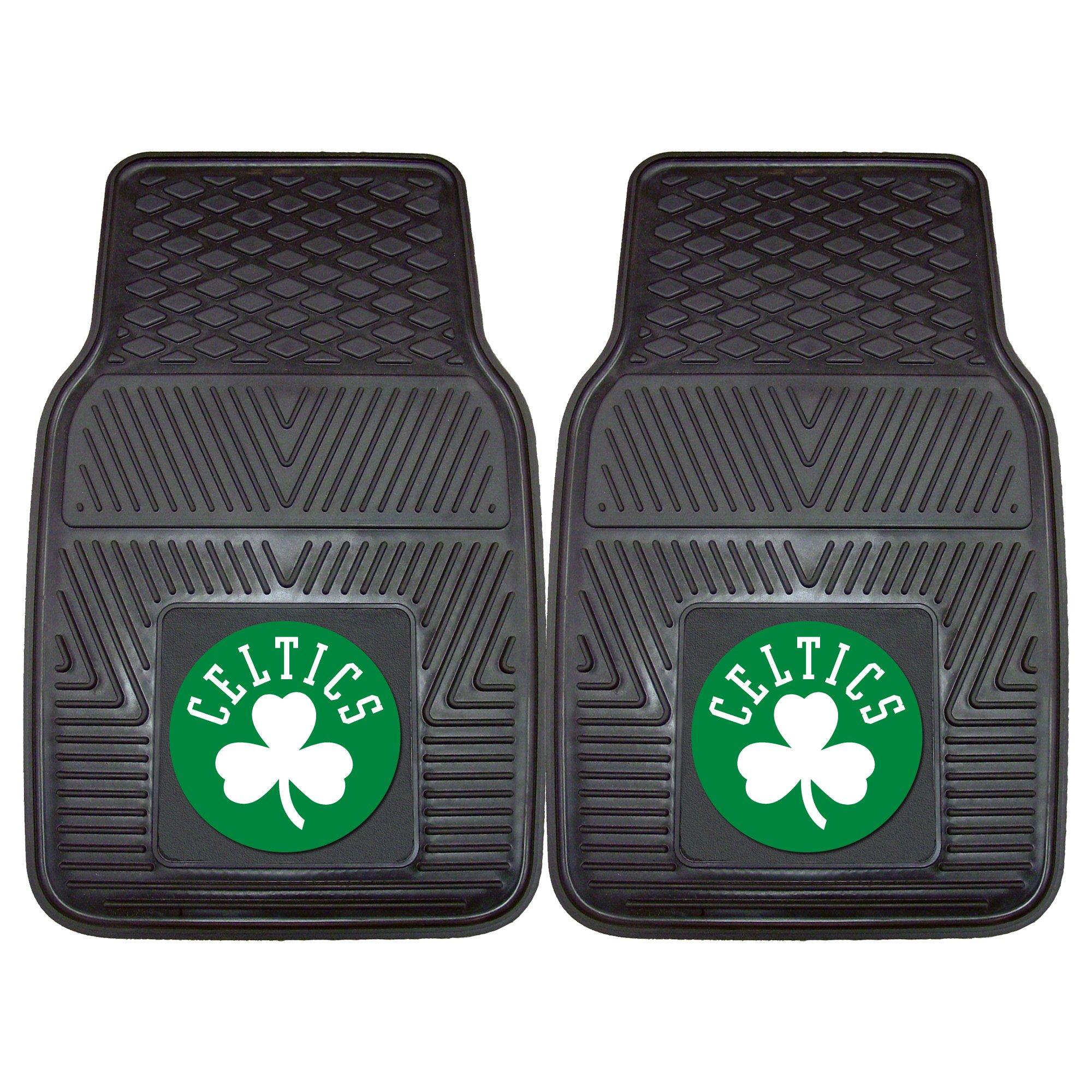 FANMATS NBA Boston Celtics Vinyl Heavy Duty Car Mat by Fanmats