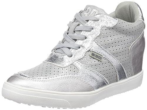 bass3d 41440, Zapatillas Altas para Mujer: Amazon.es: Zapatos y complementos
