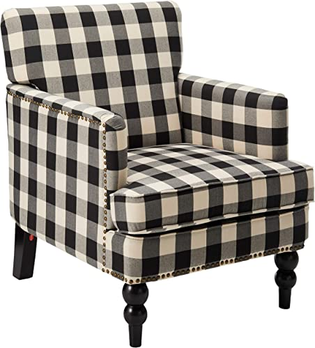 Christopher Knight Home Evete Tufted Fabric Club Chair