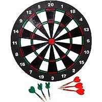 Engelhart - 065020- Safety Dart Set - Kinder Dartscheibe mit Target und Dart Safe, Mehrfarbig, Durchmesser : 40 cm