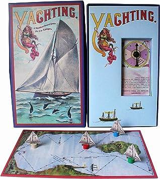 Juego de Mesa Yates House of Marbles Naútico Navegar Viaje Retro Vintage Juguete: Amazon.es: Juguetes y juegos