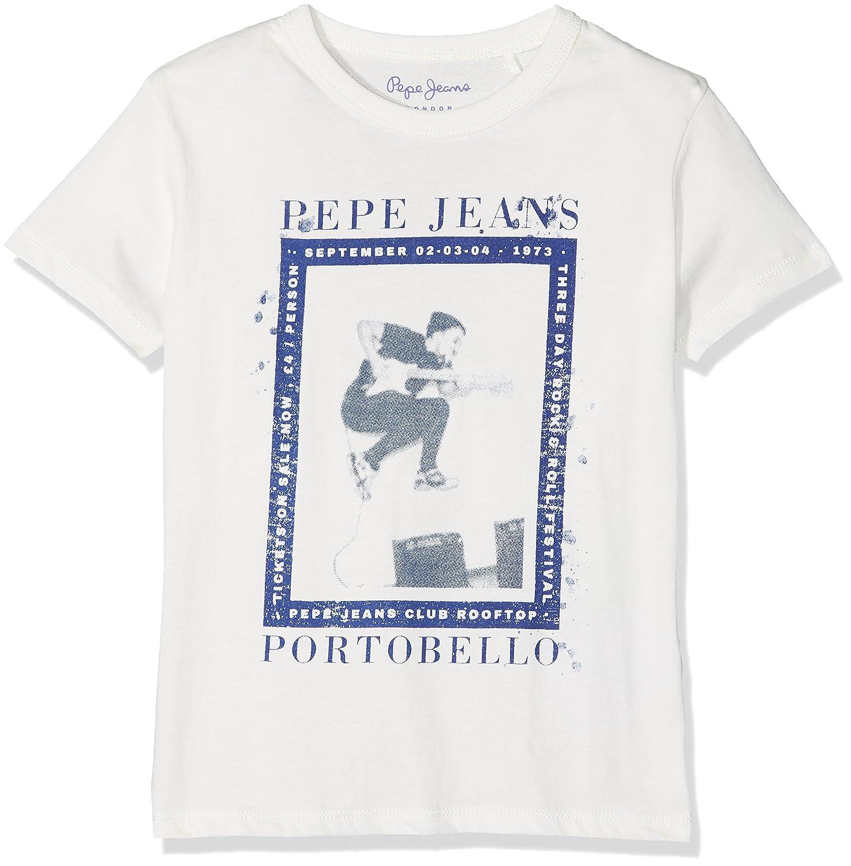 Pepe Jeans Jero Jr Camiseta para Niños: Amazon.es: Ropa y accesorios
