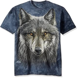 7848023713f Amazon.com  The Mountain Three Wolf Moon Short Sleeve Tee  Clothing