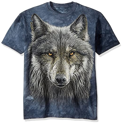 Amazon.com  The Mountain Men s Warrior Wolf T-Shirt  Clothing 20cf053860
