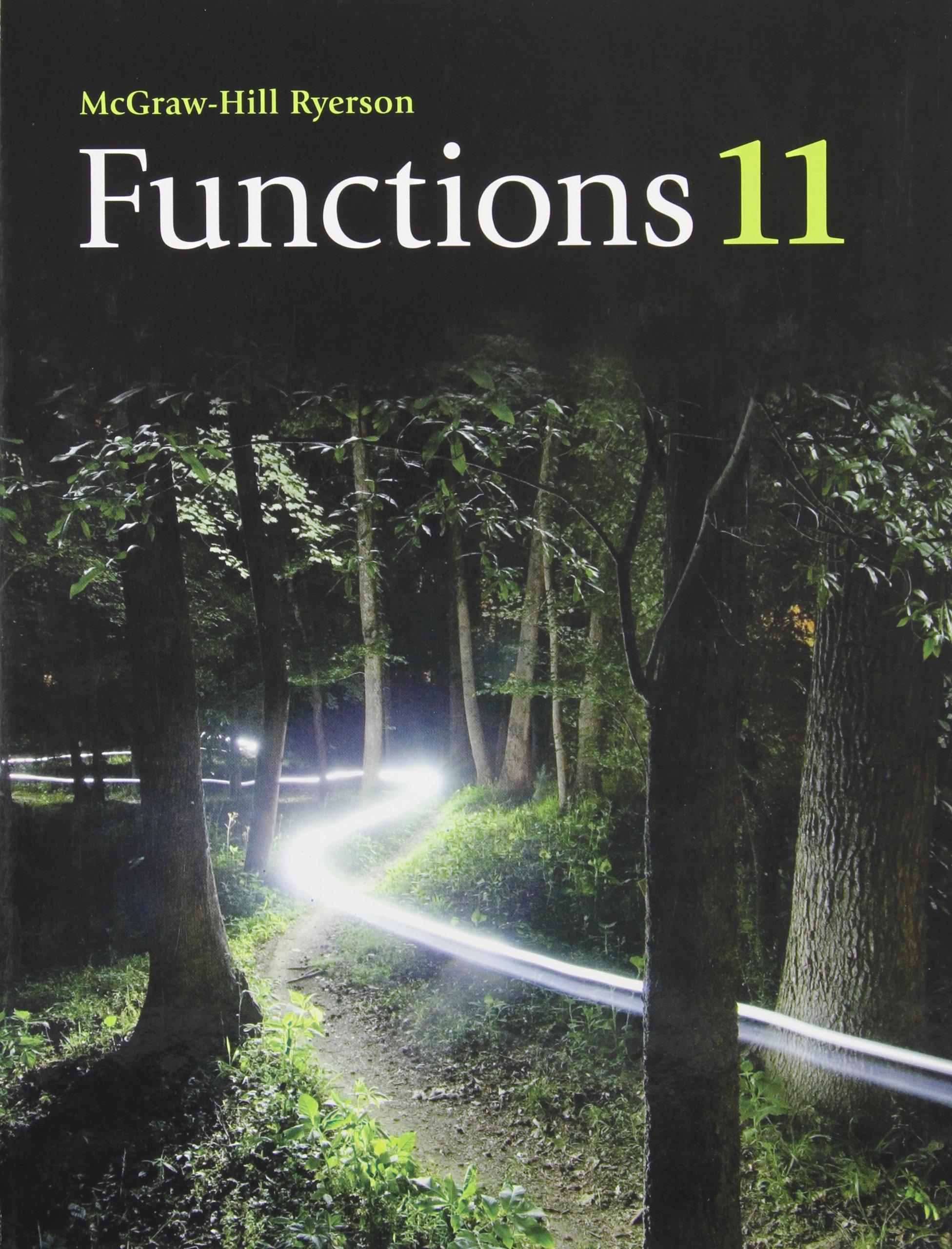 Functions 11 Meisel Roland W 9780070009783 Amazon Com Books