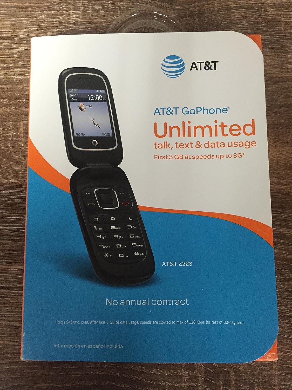 ZTE Z223 AT&T Prepaid (U.S. Warranty) CP_HR_261