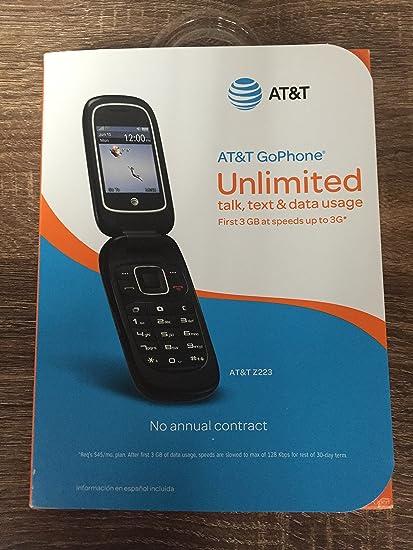 promo code 488e5 d0889 ZTE Z223 AT&T Prepaid (US Warranty)