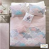 Urban Habitat Kids Cloud Full/Queen Bedding For Girls Quilt Set - Pink , Geometric, Unicorn – 5 Piece Kids Girls Quilts…