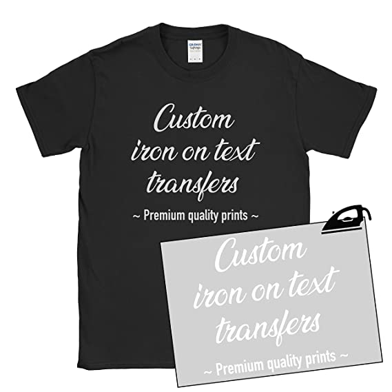 MYOG Custom Iron On Vinyl Text Personalised Prints Hen Do Party Bride Stag  Events
