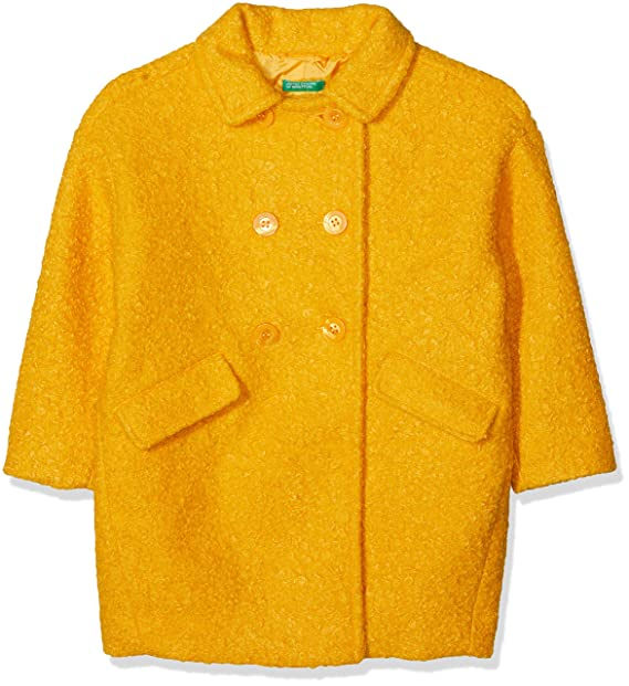 United Colors of Benetton Coat, Chaqueta de Traje para Niñas: Amazon.es: Ropa y accesorios