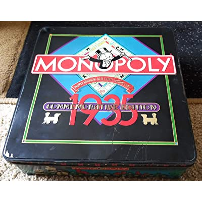 Parker Brothers Monopoly 1935 Commemorative Edition Board Game: Toys & Games