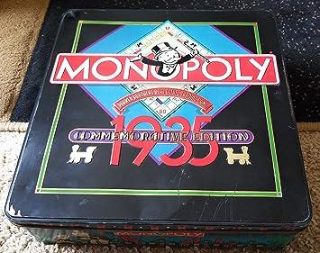 Monopoly 1935 Commemorative Edition Board Game (Parker Brothers): Amazon.es: Juguetes y juegos