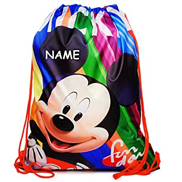 Disney Mickey Mouse Sportbeutel Turnbeutel Sporttasche Tasche Schuhbeutel