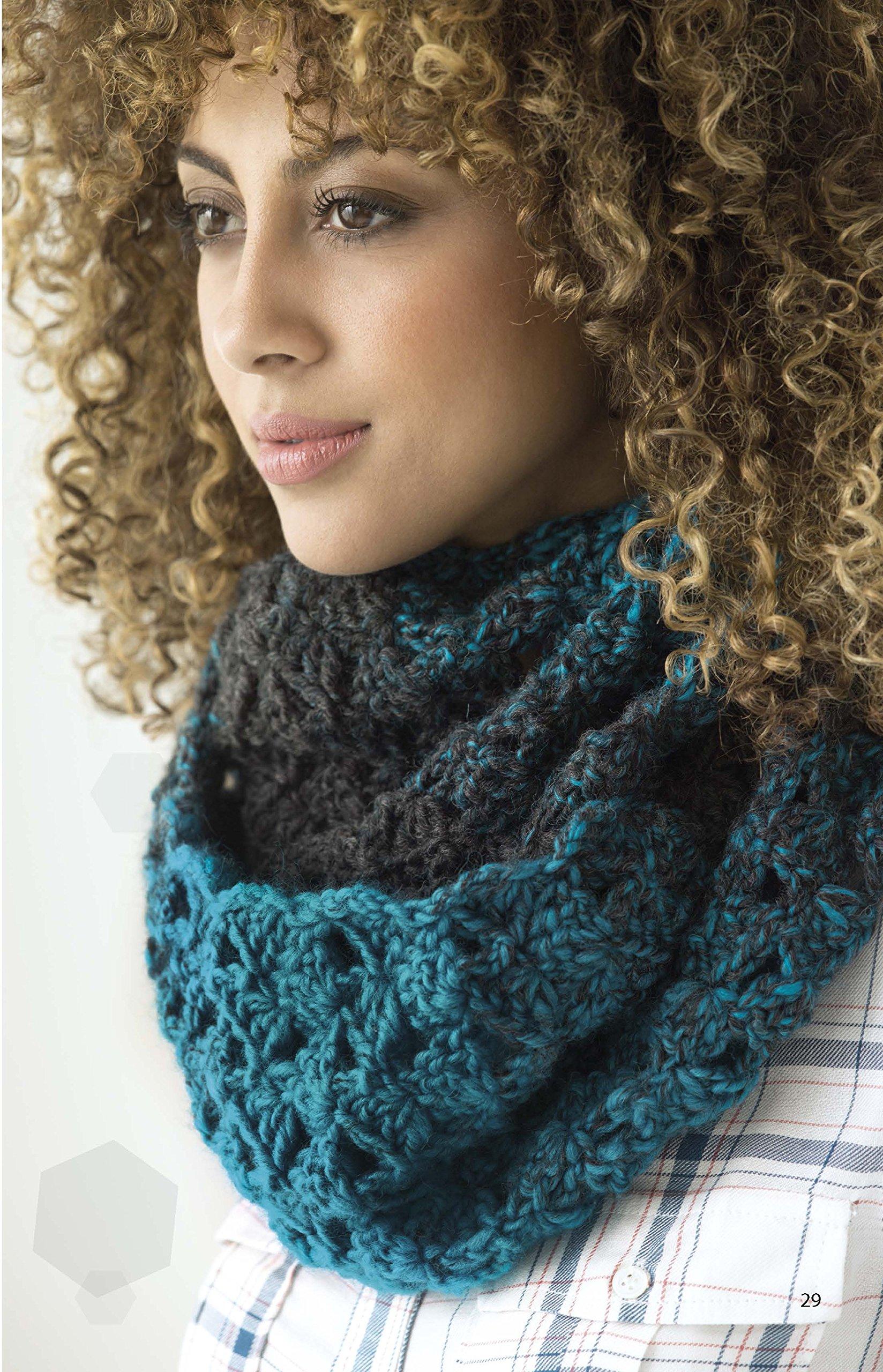 Simply Scarfie | Crochet | Leisure Arts (75586): Leisure Arts, Lion ...