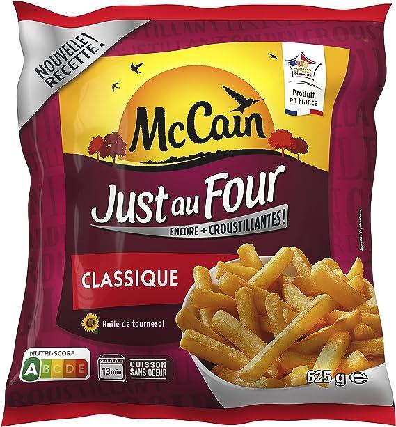 McCain Just au Four Classique 625 g: Amazon.fr: Epicerie
