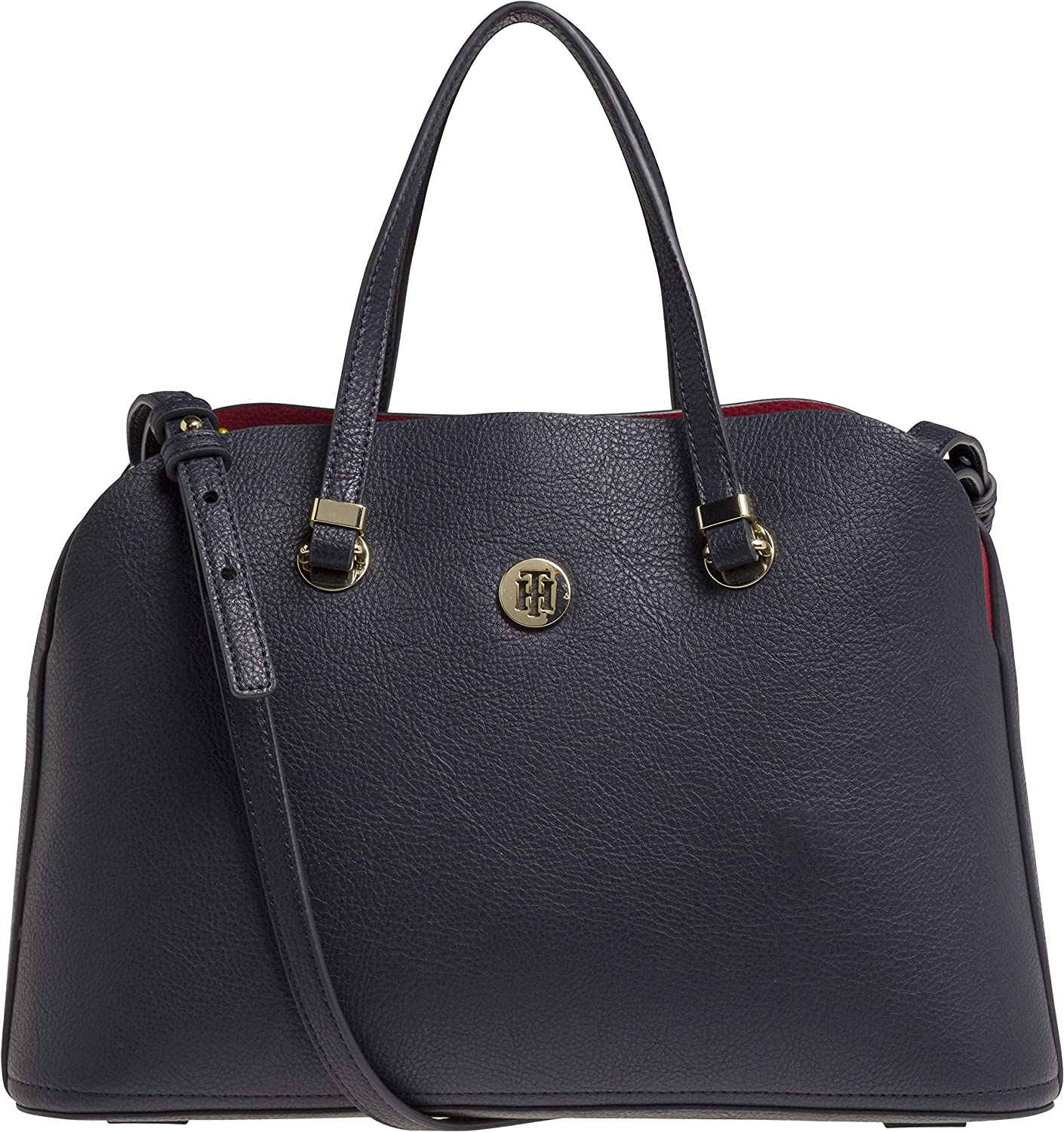 Tommy Hilfiger - Th Core Satchel, cartera Mujer, Azul (Tommy Navy), 15x24x34 cm (B x H T): Amazon.es: Zapatos y complementos