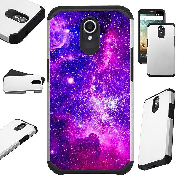 the latest 4e839 2b488 Amazon.com: Compatible AT&T Axia (2018) Case Hybrid TPU Fusion Phone ...