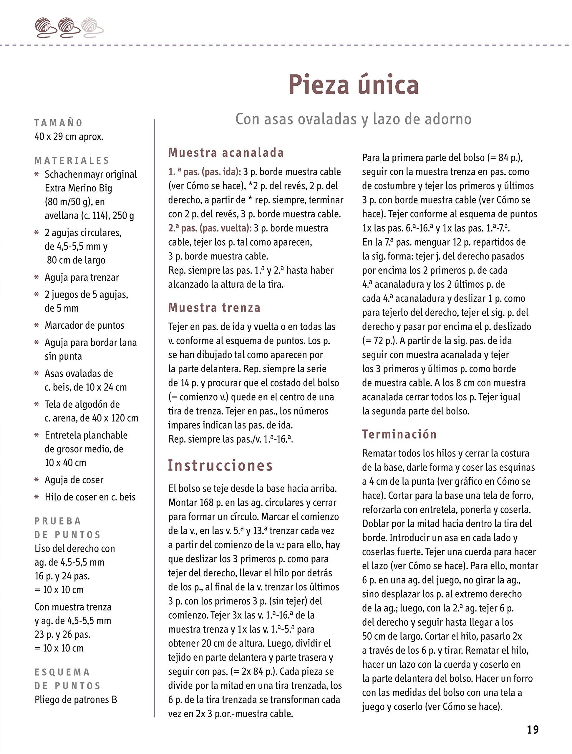 Crea Con Patrones. Bolsos De Punto Para Cualquier Ocasión Bolsos 9 ...