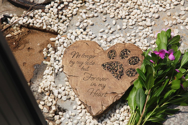 Amazon.com : ZTSS Pet Memorial Stones For Dog or Cat, Cute Tombstone ...