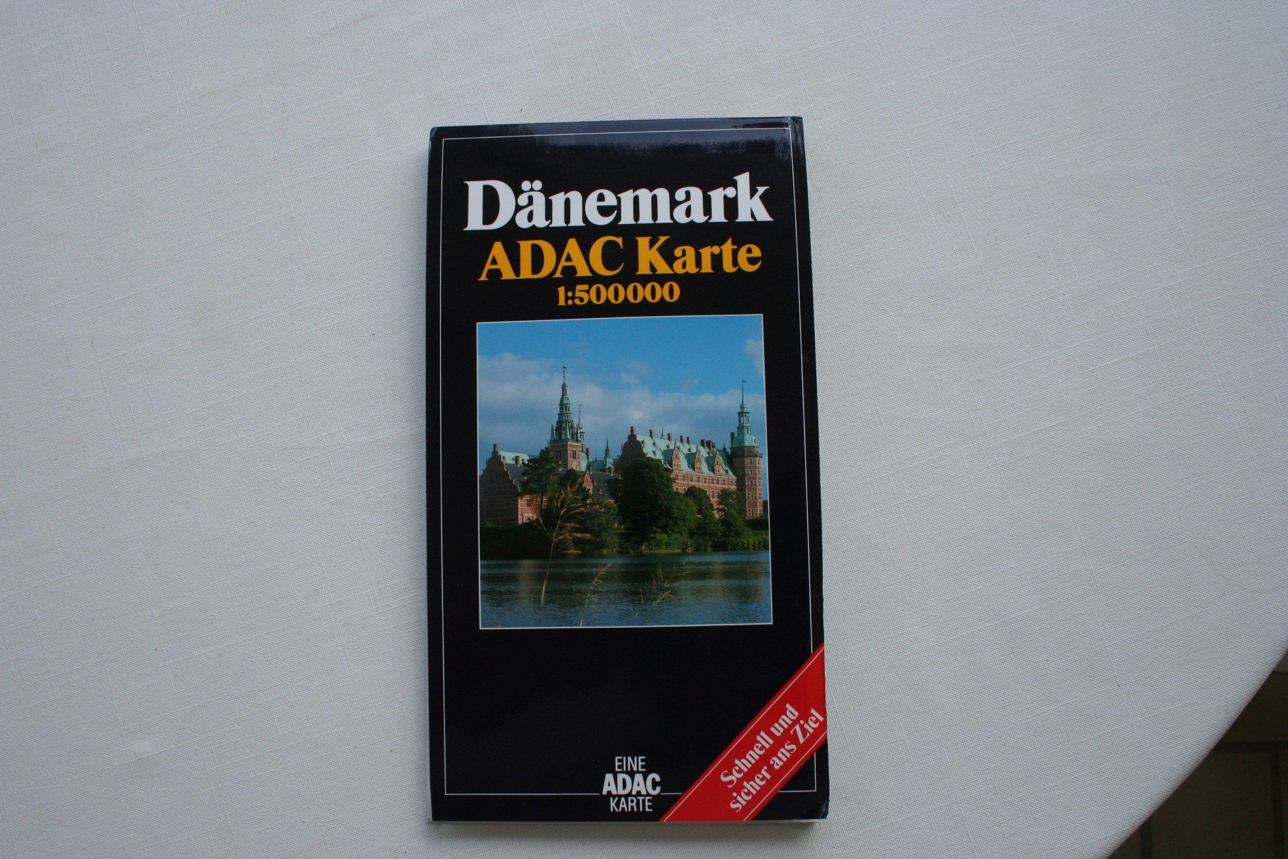 Dänemark  ADAC Länderkarten