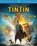 The Adventures of Tintin [Blu-ray 3D + Blu-ray + DVD + Digital Copy]