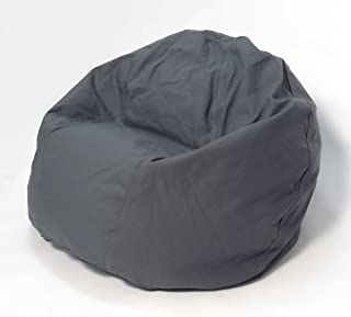 product image for Bean Products Comfy Bean Beanbag Small Cotton - Gray Made in USA