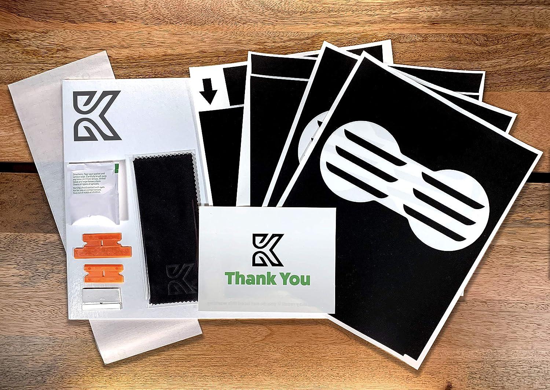 Kenriko Tesla Model 3 Matte Black Console Wrap Kit
