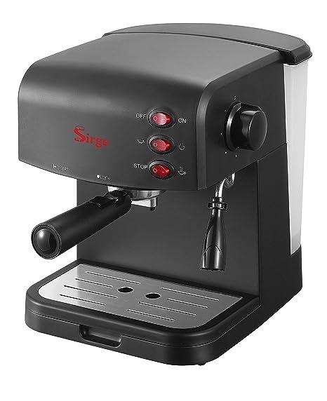 Crema Espresso Machine Machine Express Express: Café Espresso Coffee 15bar Sirge