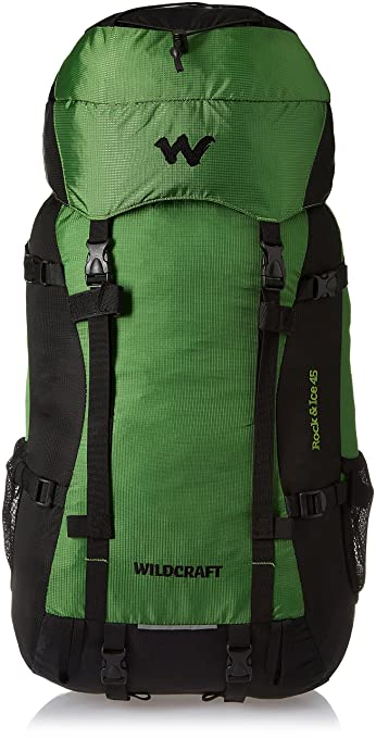 929f22a275 Wildcraft 35 ltrs Green Hiking Backpack (Rock   Ice Plus Green ...