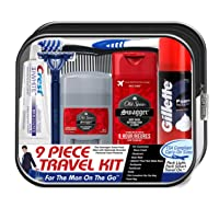 Deals on Convenience Kits International Mens Deluxe 9-Piece Kit