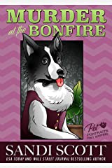 Murder at the Bonfire: A Pet Portraits Cozy Mystery (Book 8) Kindle Edition