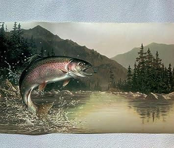 Large and Small Mouth Bass Fishing Wallpaper Border 5815135 | eBay