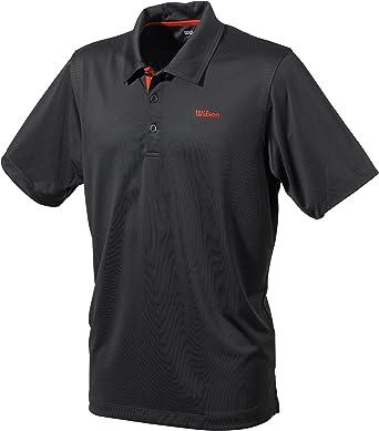 Wilson Polo - Polo de Tenis para Hombre, tamaño XXL, Color Negro ...