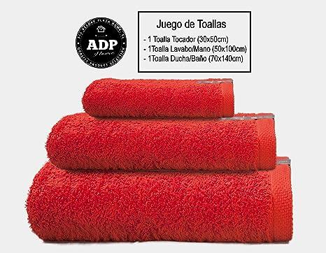 Adp home set di asciugamano da bagno: 1 asciugamani da bagno