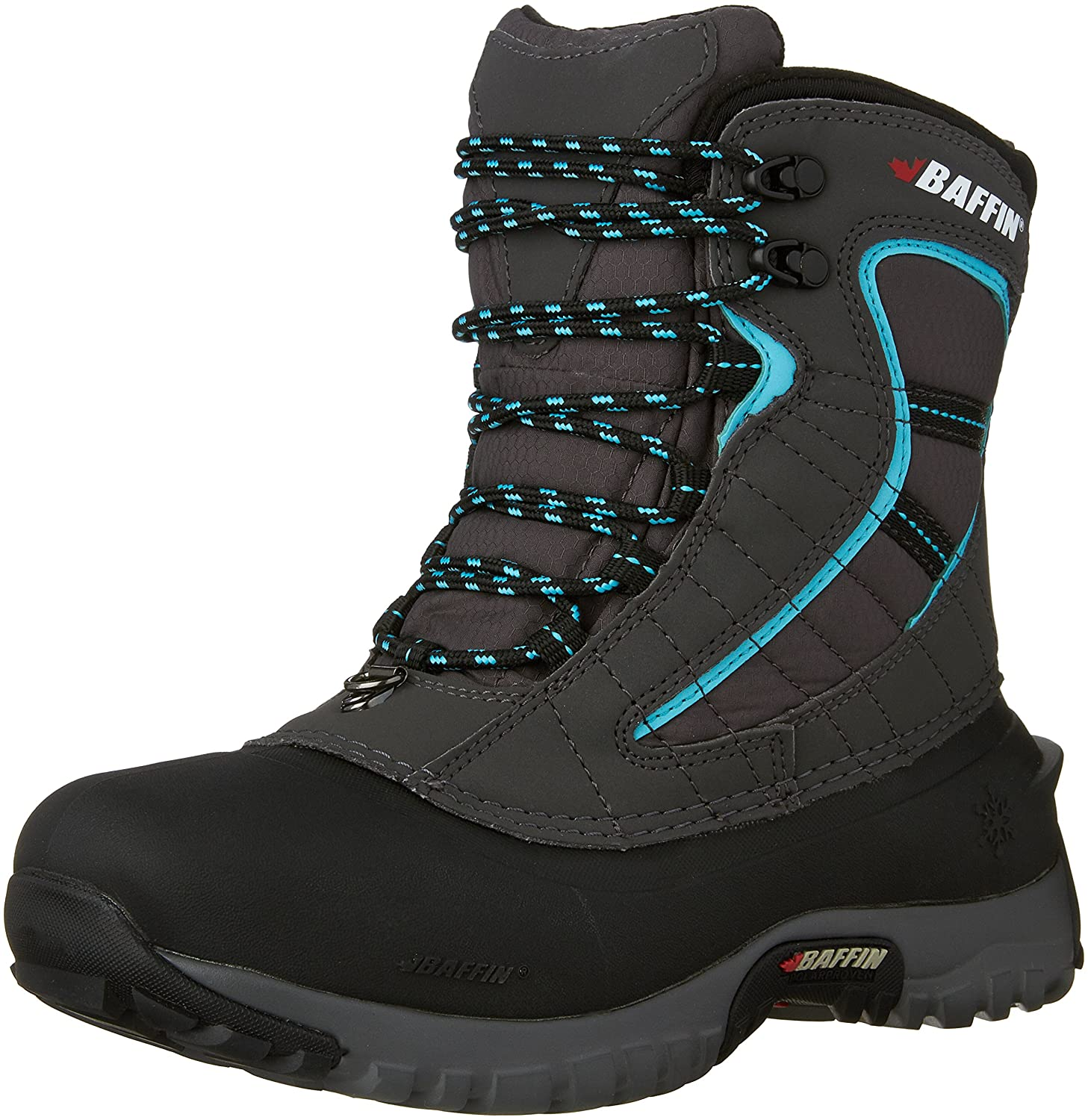 Baffin Women's Sage Insulated Active Boot B00HNTOTLM 7 B(M) US|Charcoal/Teal