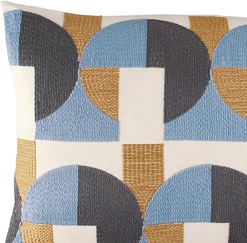 Novogratz Skye Geo Throw Pillow, 14 x 20, Multicolored