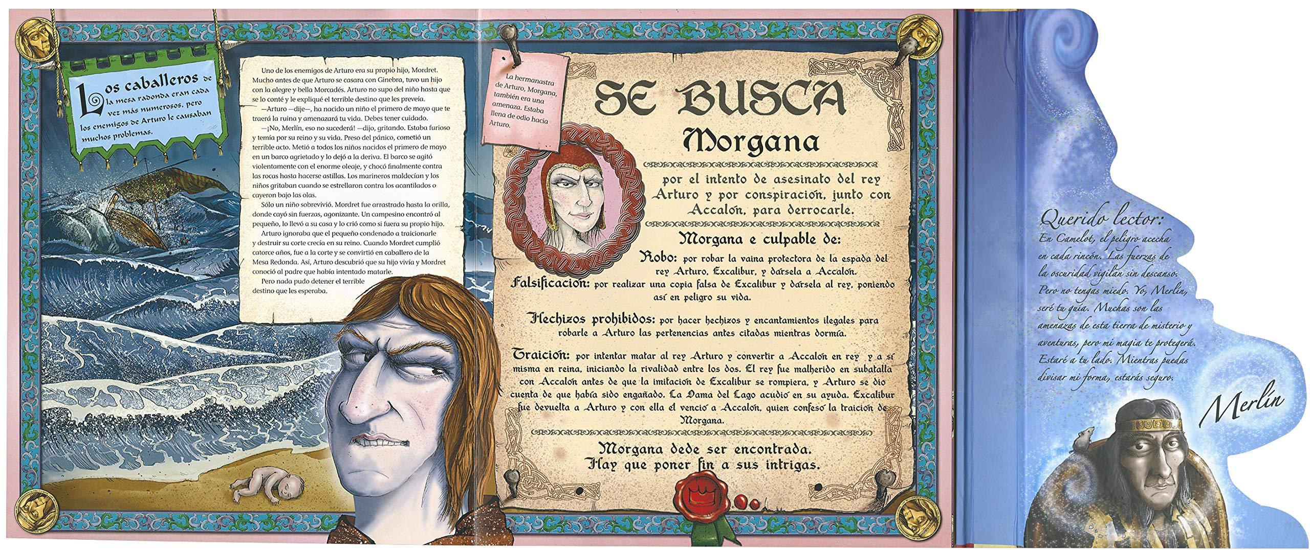 El Rey Arturo Y Los Caballeros De La Mesa Redonda Despliega La Historia Spanish Edition 9788430569915 Susaeta Equipo Books