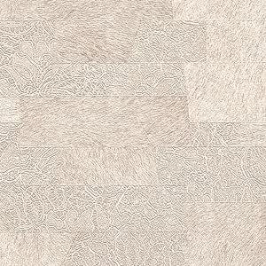 جاتي ورق جدران بدون لاصق شكل مطبوع ، بيج ، 710-2