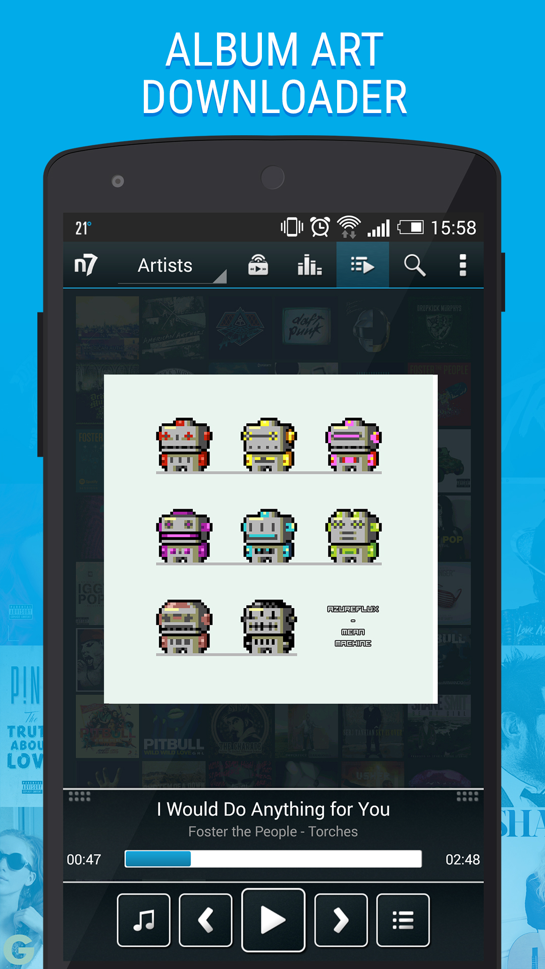 n7player Music Player - Import It All