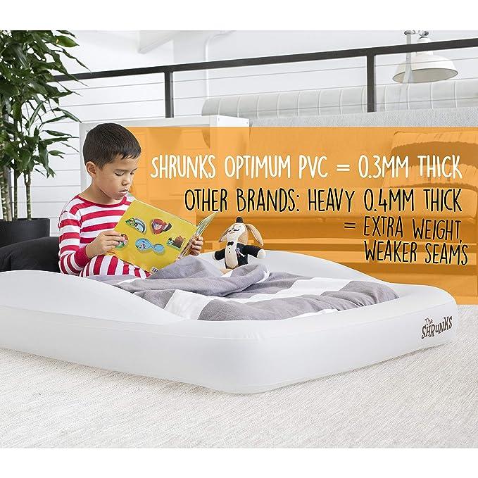Amazon.com: Cama de viaje portátil hinchable colchón de aire ...