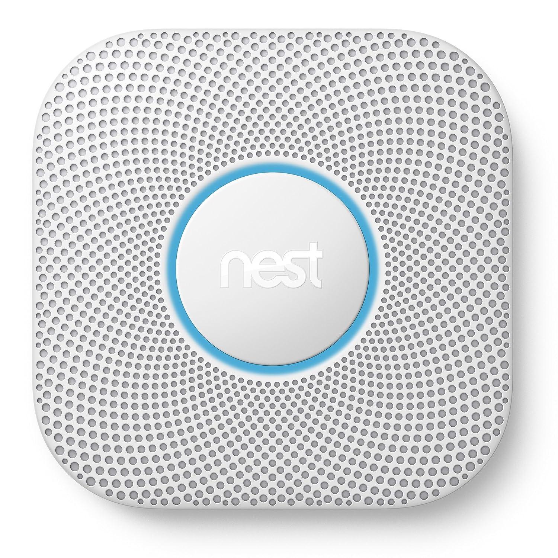 Nest Protect 2è me gé né ration fumé e + Dé tecteur de monoxyde de carbone, S3000BWGB