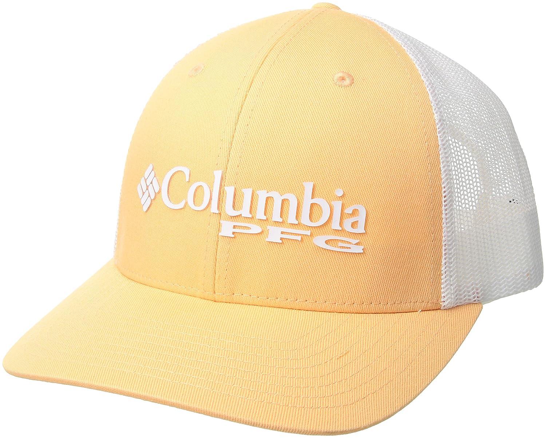 コロンビアレディースPFGメッシュボールキャップ、ライトジュース/PFGロゴ、ワンサイズ   B073JMW92Q