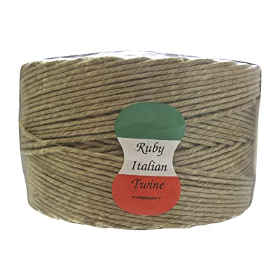 ITALIAN RUBY IRST5LB Twine Tube: Home Improvement